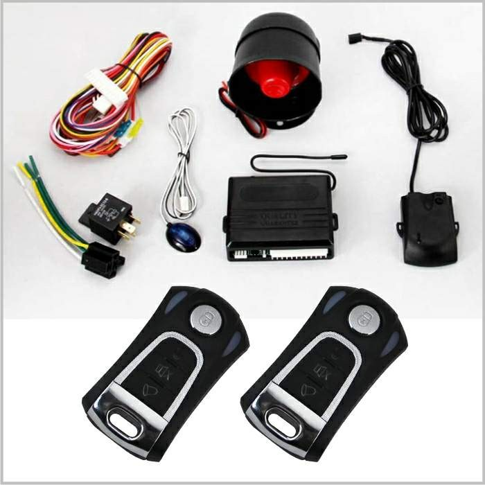 High quality learning code one way car alarm systems