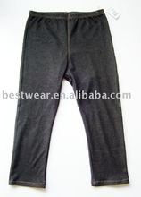 10pcs/lot 2011 new style fashion black cotton women`s jean leggings,tight pants,basic legging Q0001