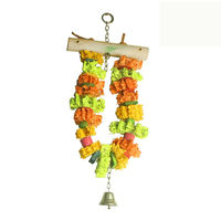 Rope Swing Bird Toy, Rope Bird Toy, Rope Bird Perch LB058
