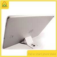 EXTREME SMALL Pad or Smart Phone Stand with Name card size and easy to carry Suitable for mobile Phone and Pad