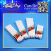 White Candles Shrink Package Popular in Nigeria /Cotonou/Banjul