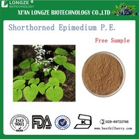 Epimedium Leaf Extract Icariin Shorthorned Epimedium Extract