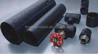 PE water pipe, ,Plastic large diameter tube, ,Polyethylene pipe