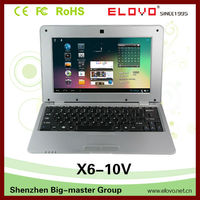 10.1 inch VIA WM8850 1GB 8GB Android comput laptop