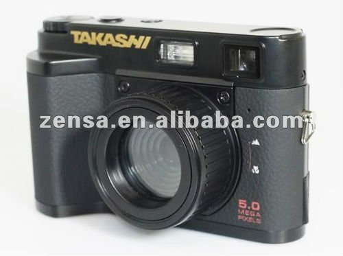TAKASHI FX521 / FX 521 Digital Camera 5.0 Mega Pixel Photo Video Toy Holga Lomo