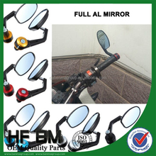 Motorcycle ATV full aluminium back view mirror, Motorccyle back view mirror