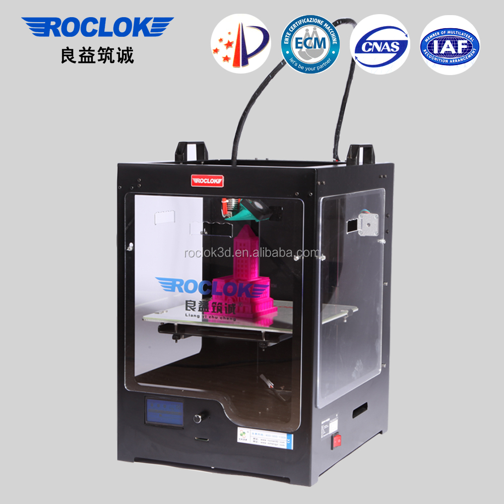 Roclok <strong>U2</strong> 3D Printing Machine with Building Size 250*250*300mm 3D Printer