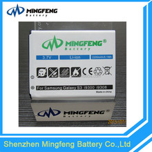 Brand new cheap price gb/t18287-2000 cell phone battery for samsung galaxy s3 i9300 eb-l1g6ll battery