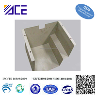 OEM sheet metal stamping parts for cast iron bracket
