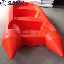 2017 Outboard motor Rotomolding PE rescue boat with plastic boat
