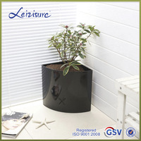 Factory price Top sell selfwatering plastic shaped flower pot (GS1)