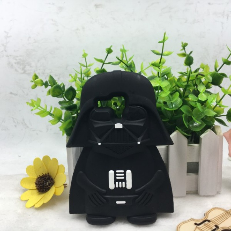 3d cartoon starword Darth Vader Silicone mobile phone case for samsung galaxy s7562 s3mini 8190 s3 mini