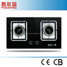 foshan quality stainless steel 2 burner kitchen gas stove cook stove