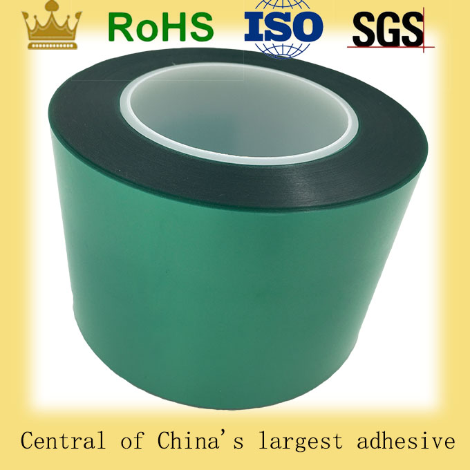 Single Sided Silicone Polyiester Adhesive Tape With Release Liner