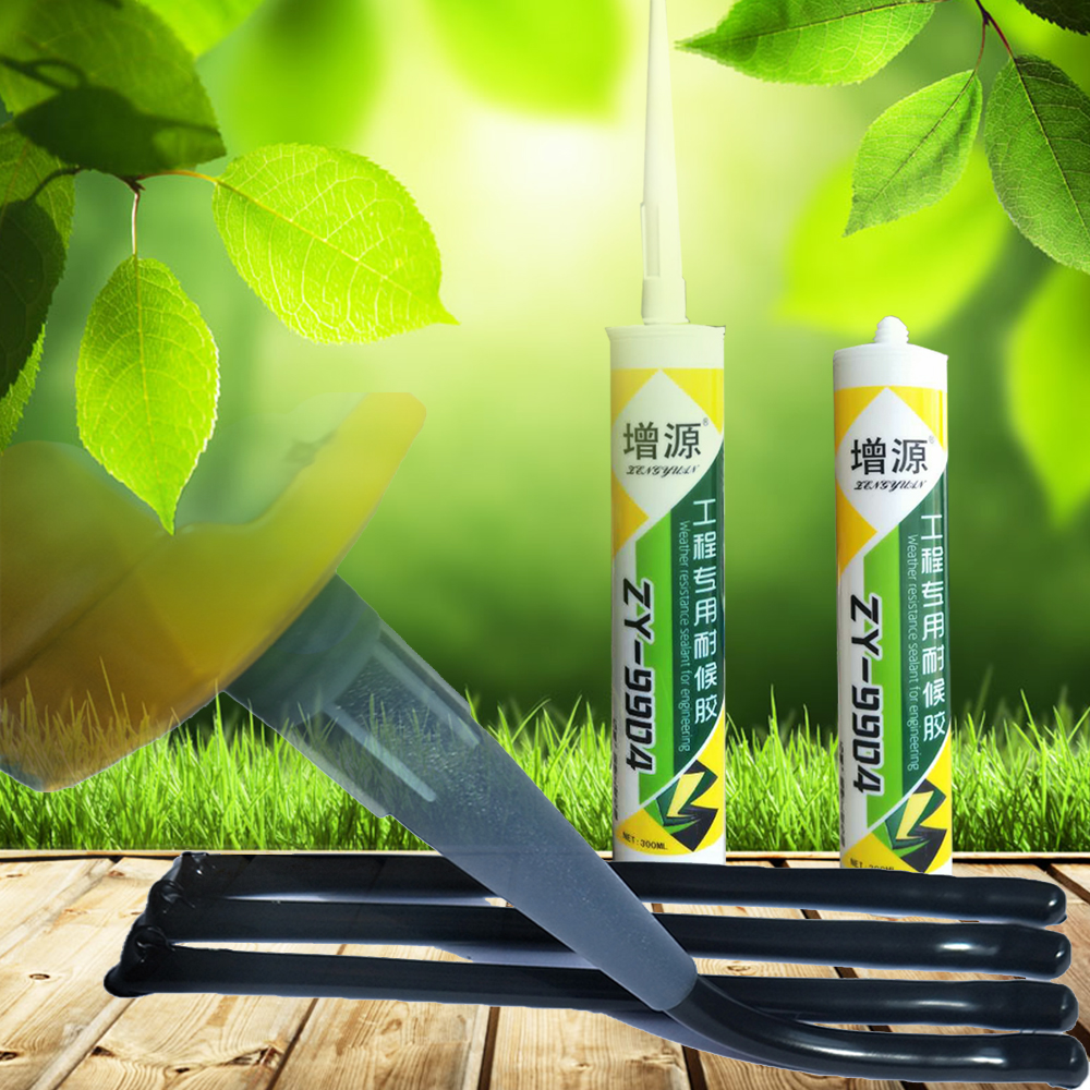 Black Weather Resistant Silicone Sealant for Engineering