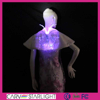 Hot sale fashion led light up illuminated new winter warm shawls