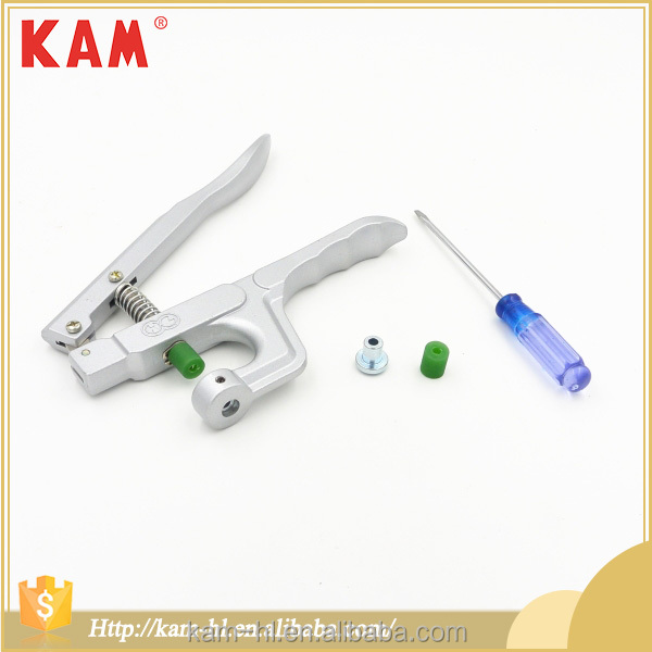Easy use manual machine garment button hand press eyelet