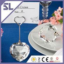 new product stainless steel restaurant place card holder