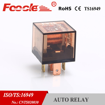 top-selling auto parts market coffee shell double contact automotive relay JD1914 100a 12V