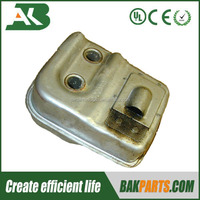 Brush cutter parts muffler for 33cc brush cutter spare parts