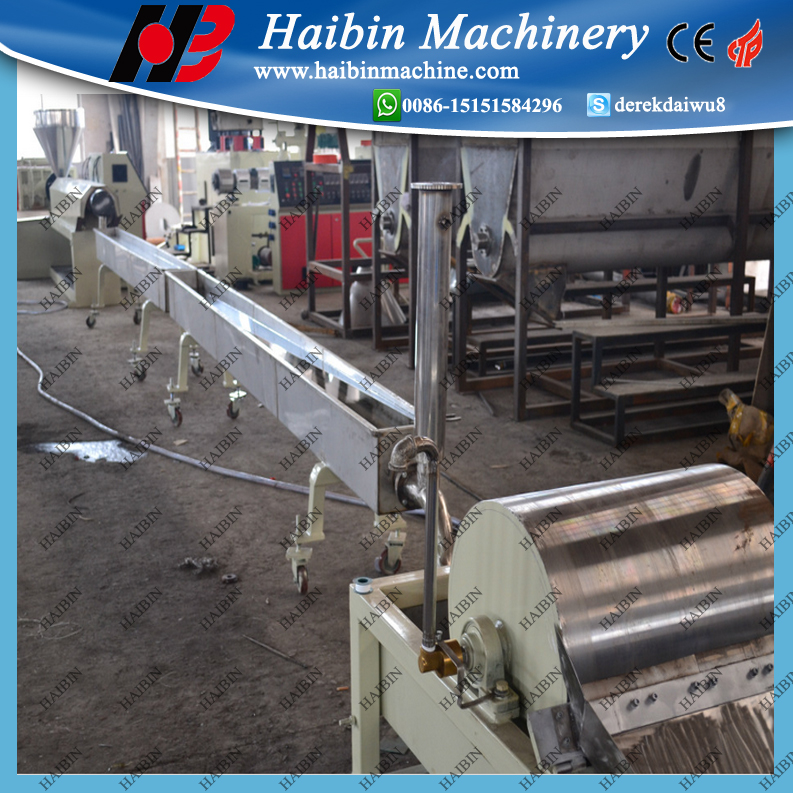 pe wax extruder extrusion production line making machine