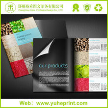 2015 full color perfect bound catalogs/flyers/posters with printing catalogs