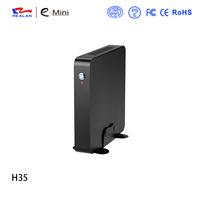Hottest intel i3 processor mini itx pc barebone with 6 usb2.0 support 2.5'' sata/msata