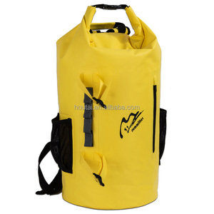 35L Waterproof customized color welcome Dry Bag backpack with Mesh pocket,reflective stripe