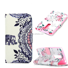 Litchi Grain Flip Cover With Stand Card Holder Phone Bag Luxury Shell Wallet Holster PU Leather Case Pouch For LG G4