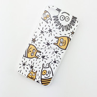 animal shaped silicone phone case for iphone 6 soft tpu fashional newest design phone cover