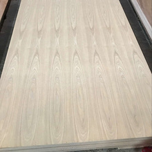red oak veneer faced plywood sheet