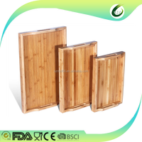 2016 newest pizza serving boards Cutting Board 100% bamboo material square cheap