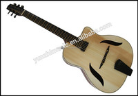 handmade archtop mahogany wood 'Model Django's Dreams' gypsy guitar