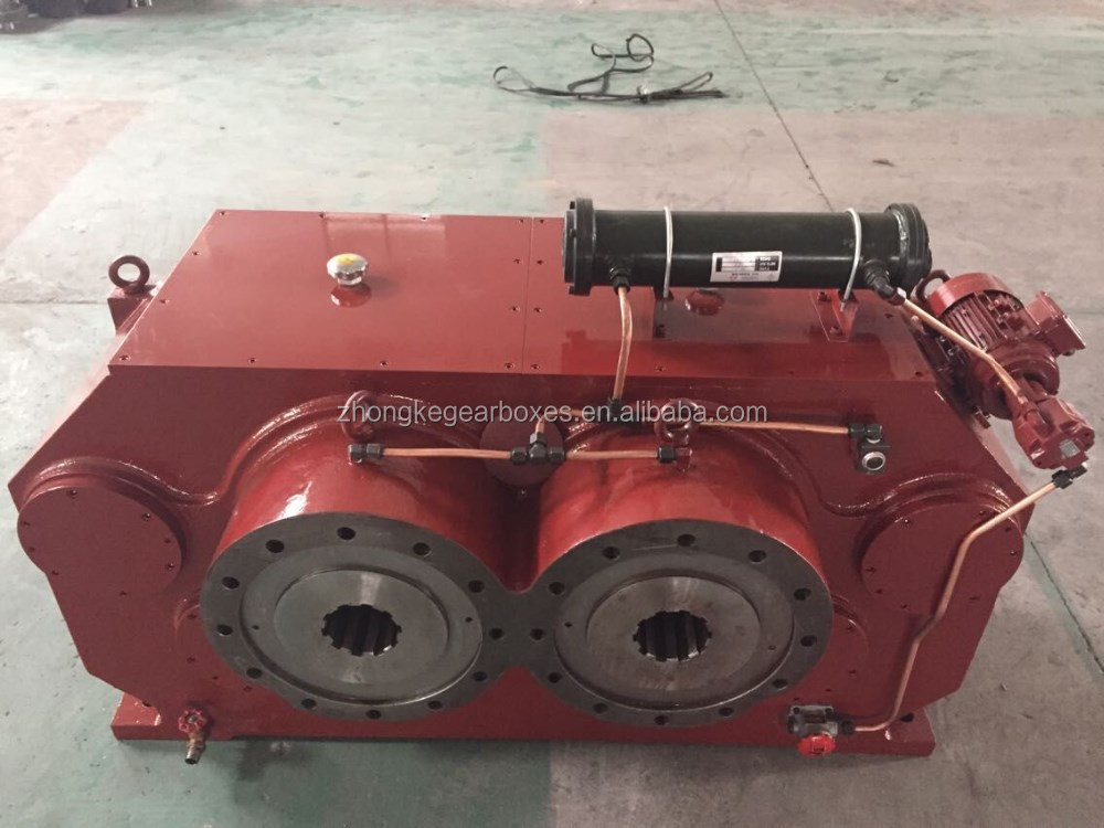 double input shaft parallel gearbox
