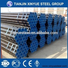 Supermarket/Air Port Use ERW tianjin astm a50 steel pipe tube price