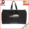deluxe black 600d polyester travel &sport bag hot-selling travel &sport baghot-selling travel &sport bag with pu leaher holder