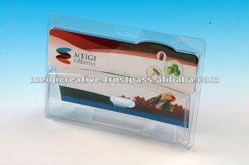 Display Tri-Fold Plastic Clamshell Packaging