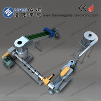 inspired for single stage /double stage water ring /strand waste plastic granulating line