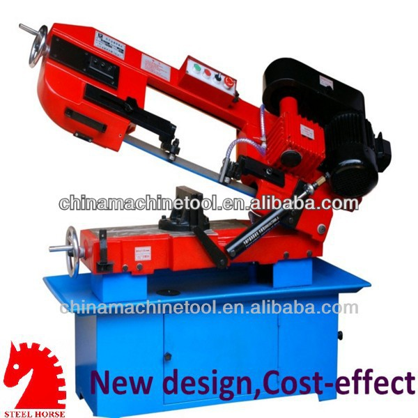 Customers favorite products BS-712 angle cut 45 degree band saw machine