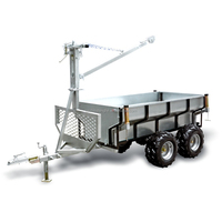 professional log trailer/atv trailer/timber trailer A01