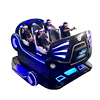 Guangzhou 6 Seats 9Dvr Simulator Virtual Reality Simulation Rides 9D VR Family Cinema with
