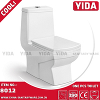 America one piece toilet commode, economic ceramic wc toilet, chaozhou famous brand toilet manufacturer