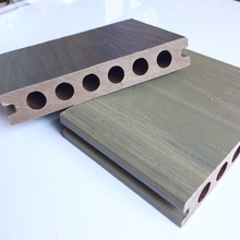 WPC co-extrusion capped composite decking