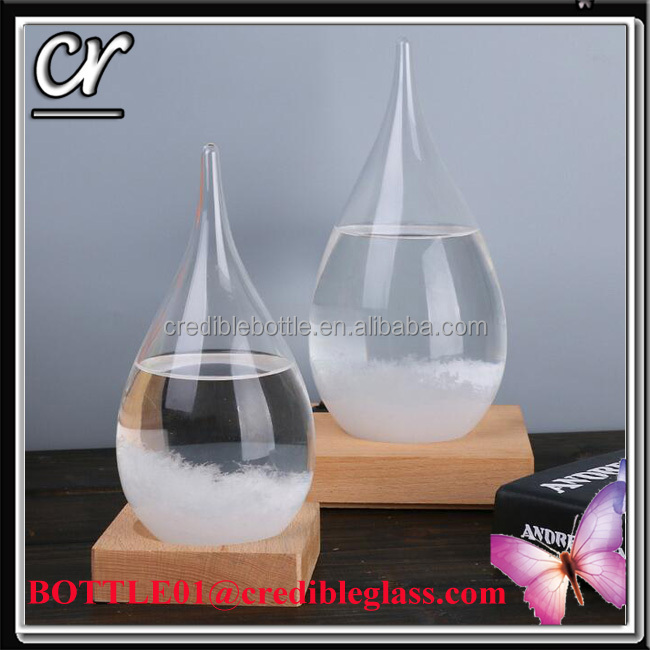 high quality storm glass Weather Forecast Bottle for christmas gift