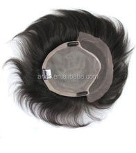 Customized Double Lace In Front Toupee For men, Invisible Knots French Lace Men's Hair Prothesis/Hair Replacement System