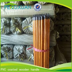 colorful pvc wooden broom handle factory direct wholesale