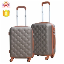 20 24 28 inch color matching metal trolley abs suitcase