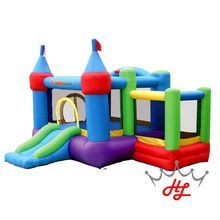 HL inflatable jumping bed/ PVC tarpaulin material