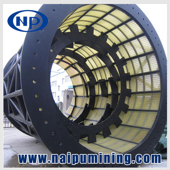 Factory price cylinder sieve for grinding mill