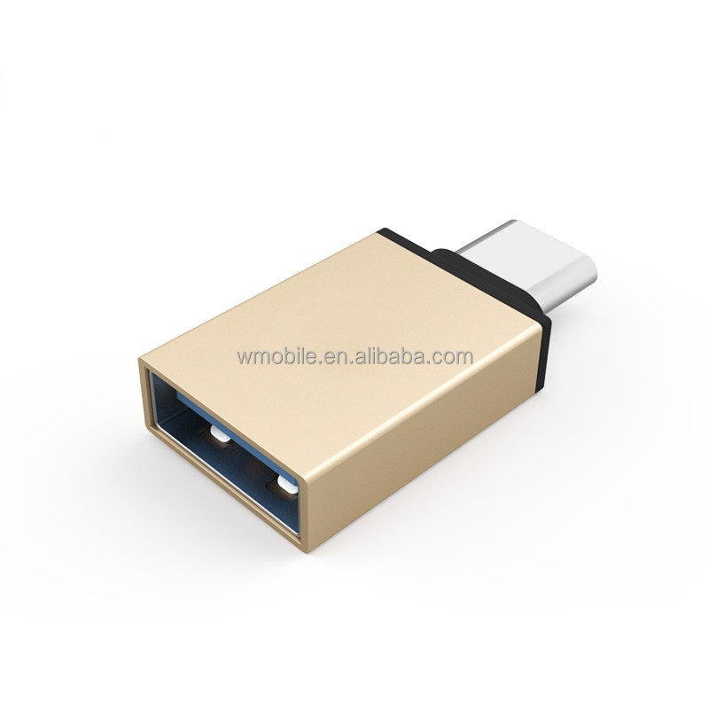USB 3.1 Type C Male to USB 3.0 A Female Converter Adapter OTG Function for Macbook